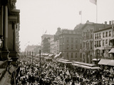 Labor Day Crowd  Main St  Buffalo  NY