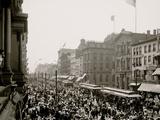 Labor Day Crowd  Main St  Buffalo  NY