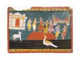 Rama Visits Bharadvaja's Hermitage
