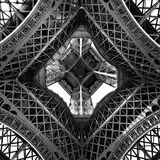 Under the Eiffel - Tempered Glass Wall Art