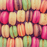Macaroons Temperd Glass Wall Art