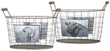 Savannah Farm Baskets - Set of 2