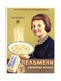 Siberian Meat - Pelmeni - Meat Stuffed in Pastry