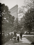 New York  NY  Flatiron Bldg from Madison Square Park
