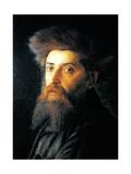 Portrait of Jew with Streimel