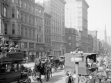Fifth Avenue and Forty-Second Street  New York  NY