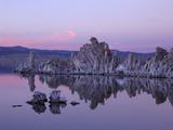 Mono Lake  a Large  Shallow Saline Soda Lake in Mono County  California