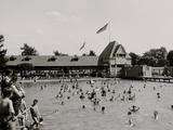 Swimming Pool  Belle Isle Park  Detroit  Mich