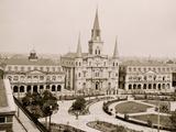 Jackson Square  New Orleans  La