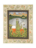 Emperor Ahmad Shah  Equestrian  in the Hunting Field