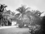 Court of a Cuban School  Santiago De Cuba