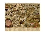 Vauban Defenses on the Narva  Estonia - 1700