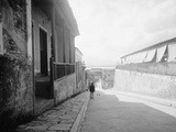 Typical Street  Santiago De Cuba