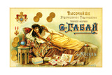 Gabbai Tobacco Factory in Moscow  Approved by the Crown