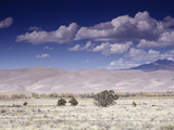 Great Sand Dunes National Monument at the Foot of the Sangre De Cristo Mountains in Colorado