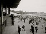 Saratoga Race Track  Saratoga Springs  NY