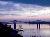 Mississippi River in Natchez  Mississippi