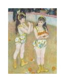 Acrobats at the Cirque Fernando (Francisca and Angelina Wartenberg)  1879