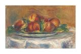 Peaches on a Plate Giclée premium par Pierre Auguste Renoir