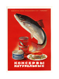 Salmon  Sturgeon - Natural Canned Products