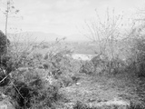 View Towards Position of American Forces from San Juan Hill  Santiago De Cuba  Cuba