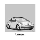 Lemon - Cartoon