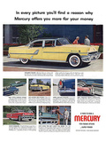 1955 Mercury-Exclusive Styling