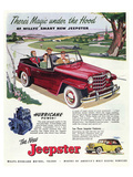 1950 Willys Smart New Jeepster