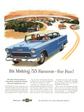1955 GM Chevy Famous for Fun