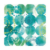 Raindots in Blue and Green