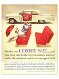 1961 Mercury-New Comet S-22