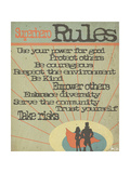 Superhero Rules Reproduction d'art par Shanni Welsh