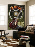 Nashville  Tennessee - Guitar and Microphone