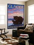 Bear and Cub  Glacier National Park  Montana