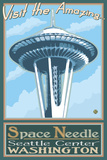 Visit the Space Needle  Seattle  Washington