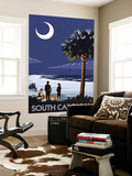South Carolina Palmetto Moon