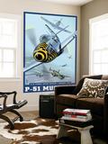 B-25 Bomber Escort Mission - P-51 Mustang  c2008