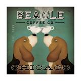 Beagle Coffee Co Chicago Reproduction d'art par Ryan Fowler