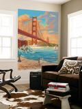 Golden Gate Bridge Sunset - 75th Anniversary - San Francisco  CA