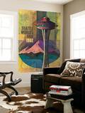 Seattle  Washington - Space Needle World's Fair Promo Poster No 2