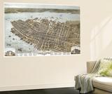 Charleston  South Carolina - Panoramic Map