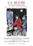 La Ruche Sérigraphie par Marc Chagall