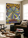 Chicago's Navy Pier and Ferris Wheel