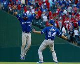 Division Series - Toronto Blue Jays v Texas Rangers - Game Four