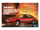 1983Mustang the Boss Hot Piece