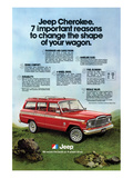 1980 Jeep Cherokee - Reasons
