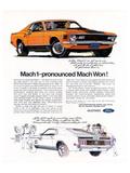1970 Mustang Mach1-Mach Won