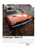 1970 Dodge Challenger-Watch It!