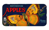 Mariposa Apple Label - San Francisco  CA