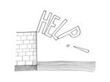 New Yorker Cartoon Giclée premium par Saul Steinberg
